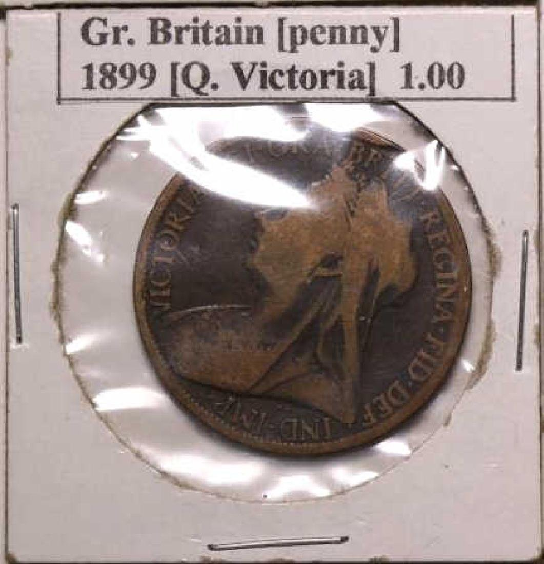19TH C. FOREIGN COIN GROUPING - 5