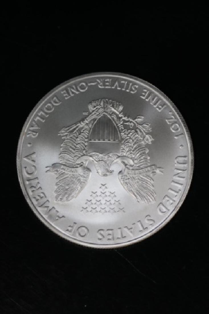 UNCIRCULATED PEACE SILVER DOLLAR - 4