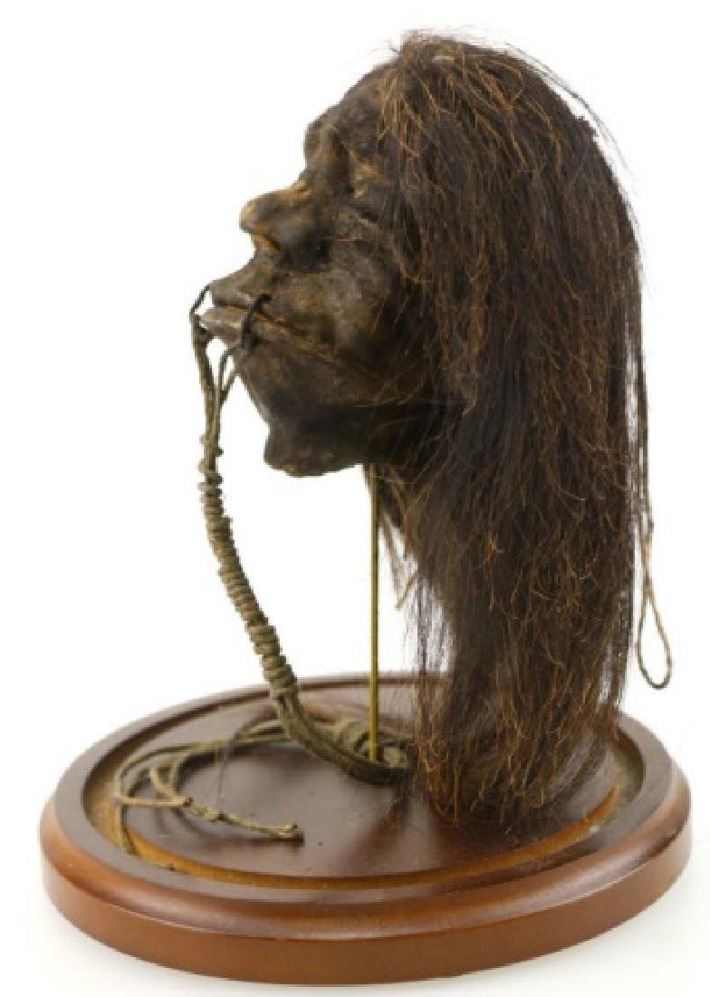 SHRUNKEN HEAD UNDER DOME - 5