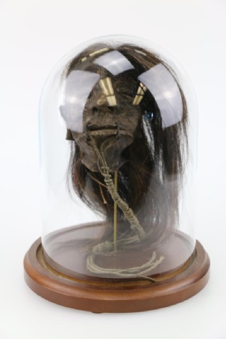 SHRUNKEN HEAD UNDER DOME - 7