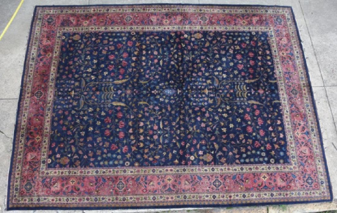 PERSIAN HAND WOVEN ROOM SIZE CARPET