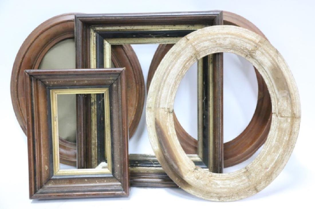 ANTIQUE FRAME GROUPING