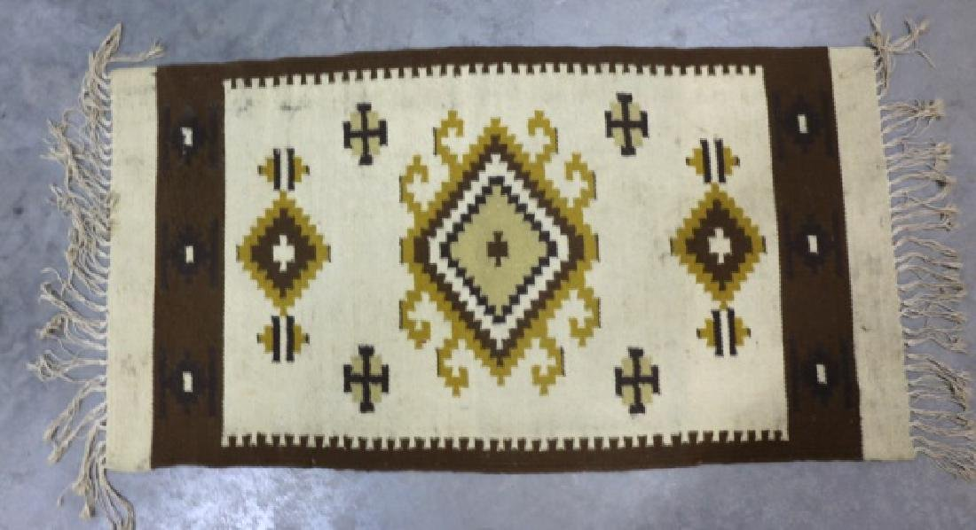TRIBAL HAND WOVEN AREA CARPET