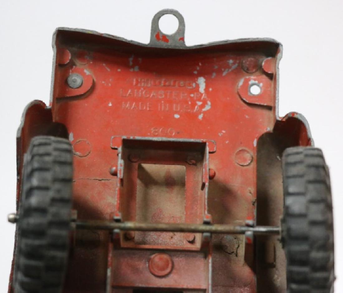 HUBLES LANCASTER PA  ANTIQUE METAL TOY TRUCK - 2