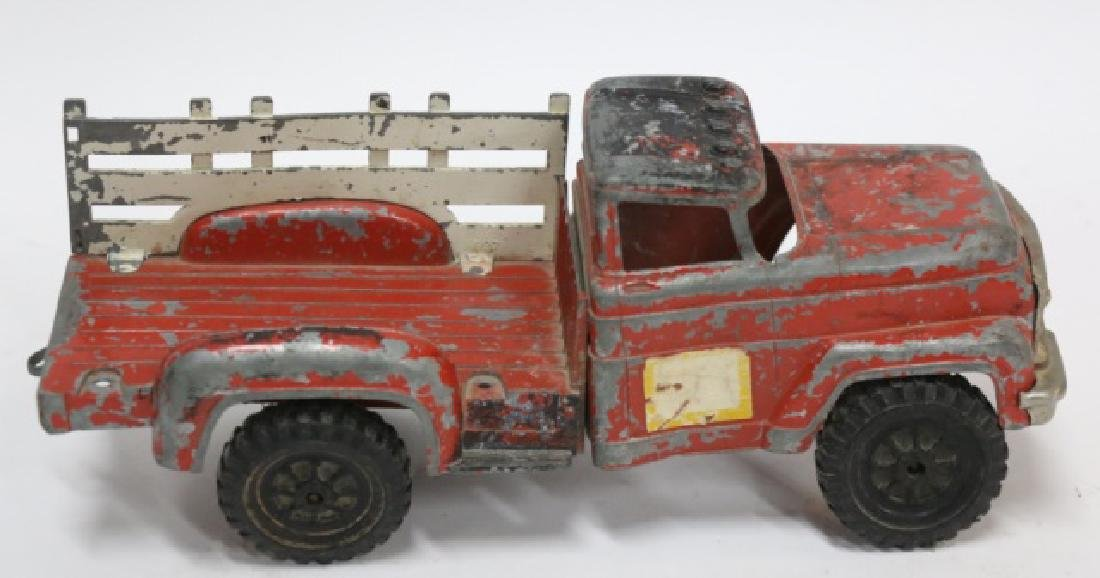HUBLES LANCASTER PA  ANTIQUE METAL TOY TRUCK - 3