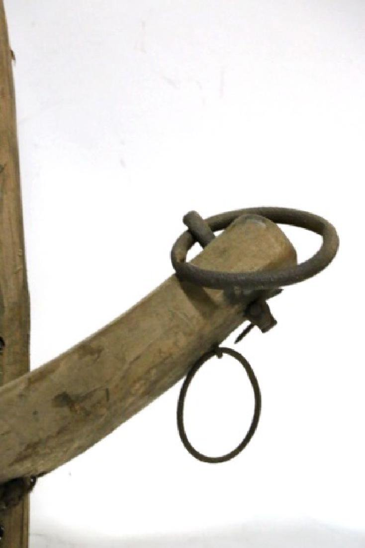 ANTIQUE PRIMITIVE SINGLE YOKE - 3