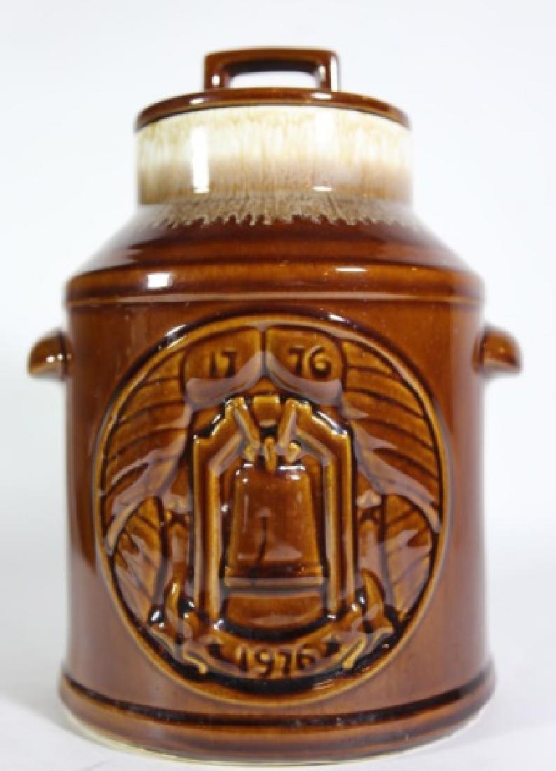 McCOY LIDDED 1976  LIBERTY BELL COOKIE JAR