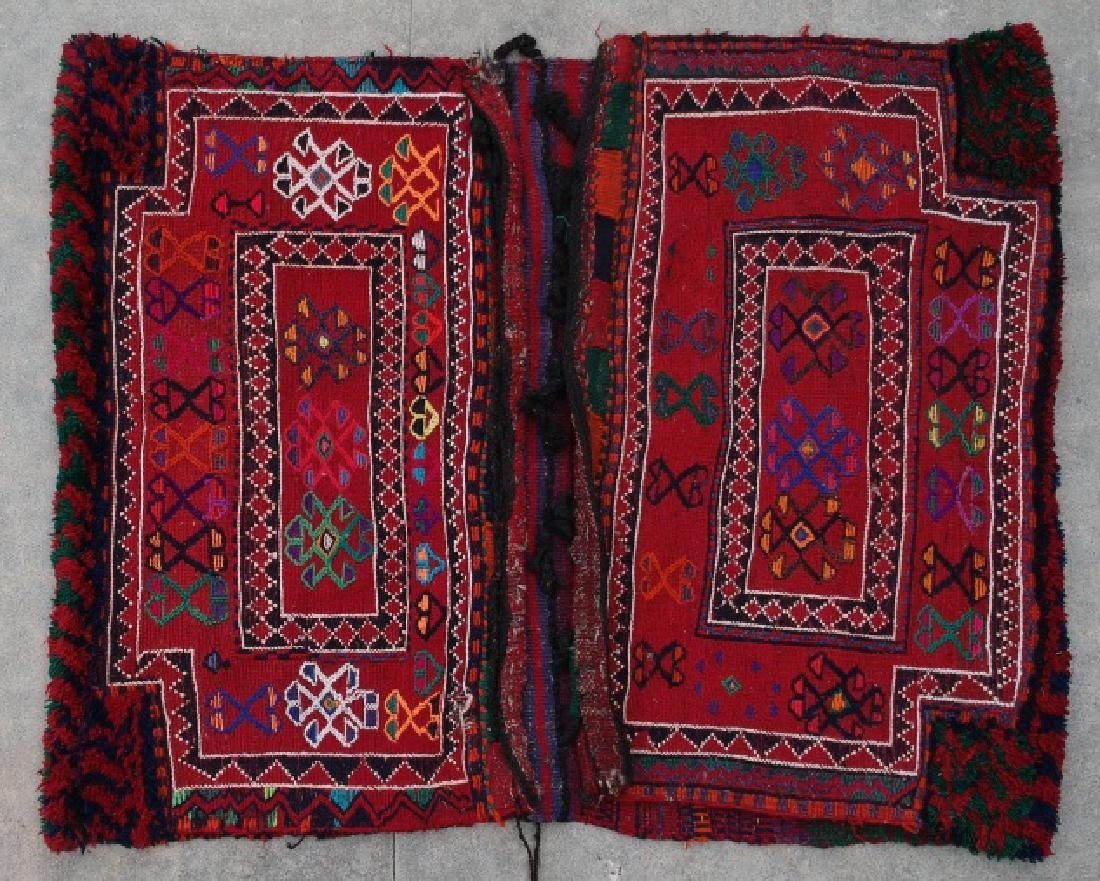 IRANIAN NOMAD HAND WOVEN CAMEL BAGS