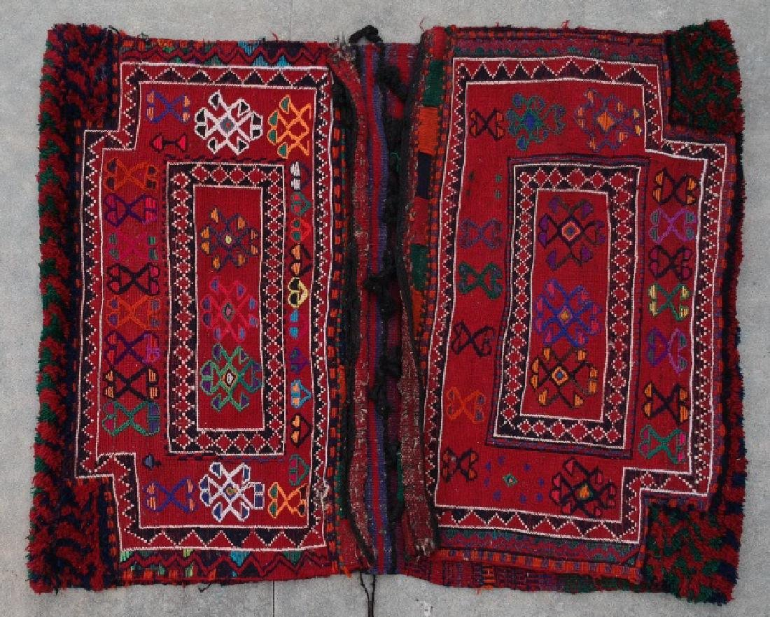 IRANIAN NOMAD HAND WOVEN CAMEL BAGS - 3