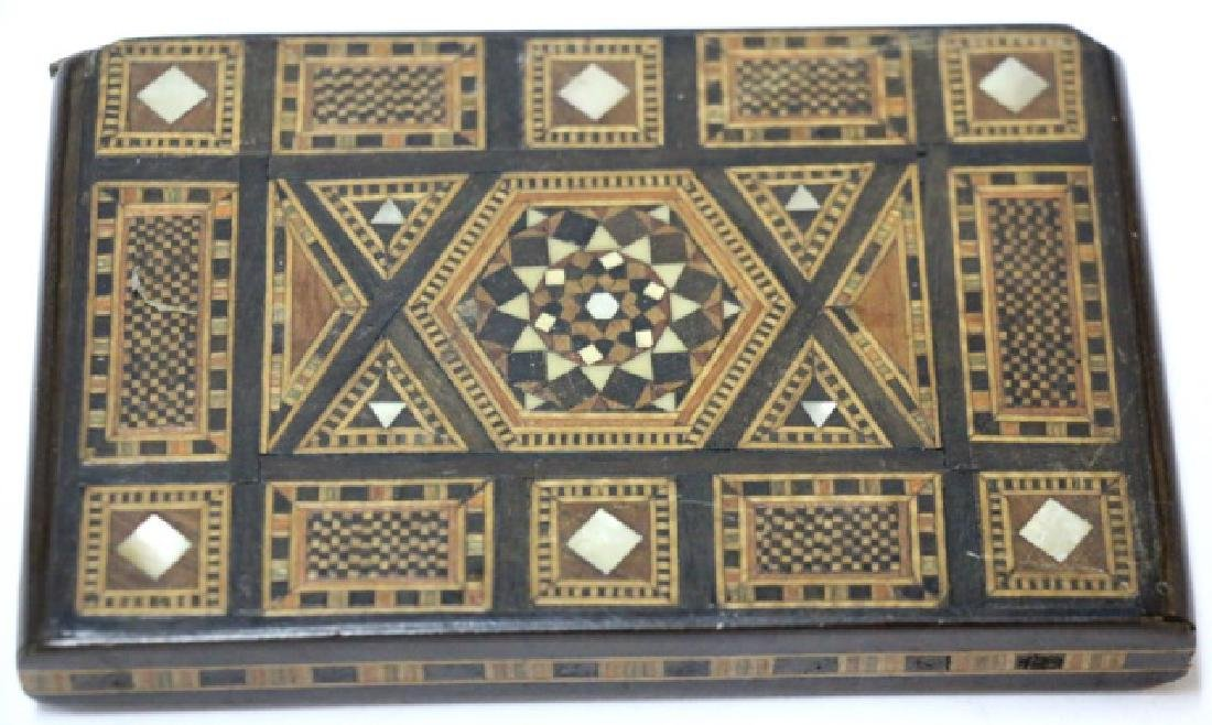 ANTIQUE INLAID CIGARETTE CASE
