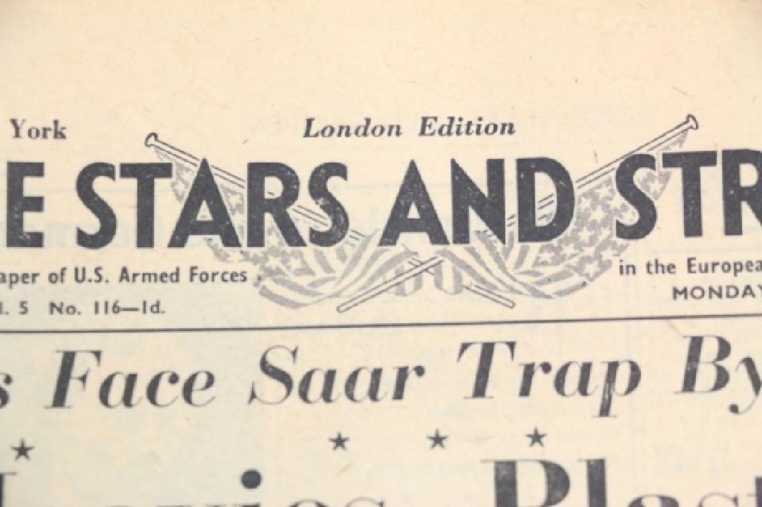 1945 STARS AND STRIPES WWII NEWSPAPER - 3