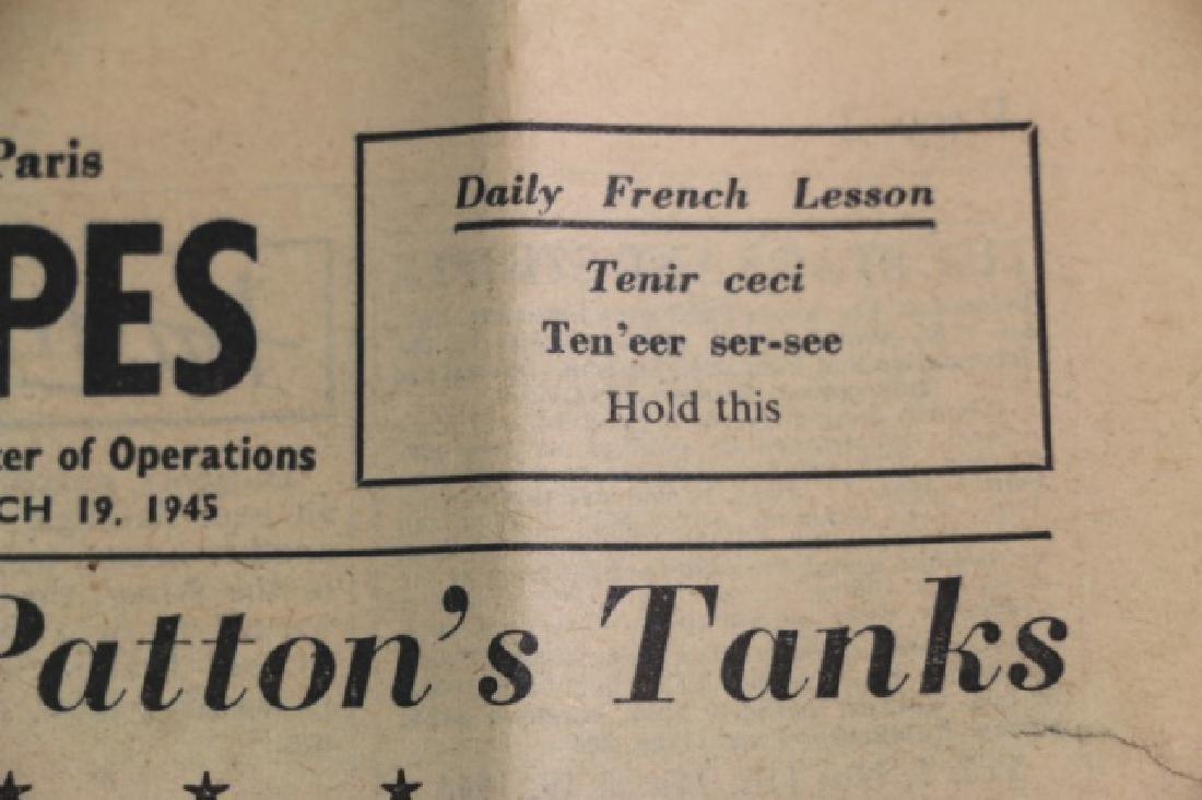 1945 STARS AND STRIPES WWII NEWSPAPER - 4