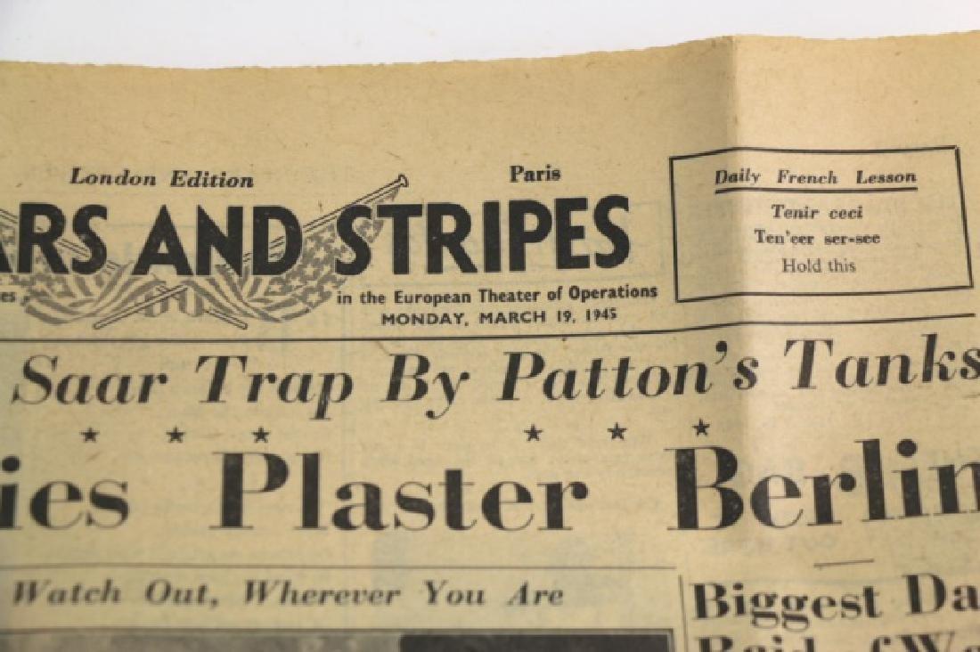 1945 STARS AND STRIPES WWII NEWSPAPER - 5