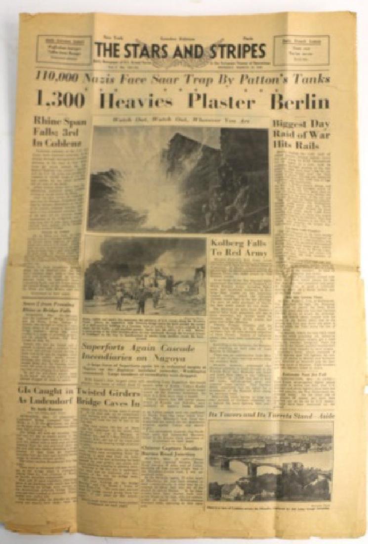 1945 STARS AND STRIPES WWII NEWSPAPER - 6