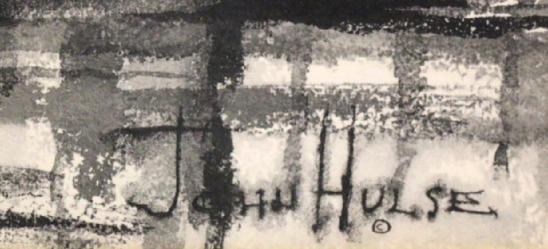 JOHN HULSE (AMERICAN) CHARCOAL - 4