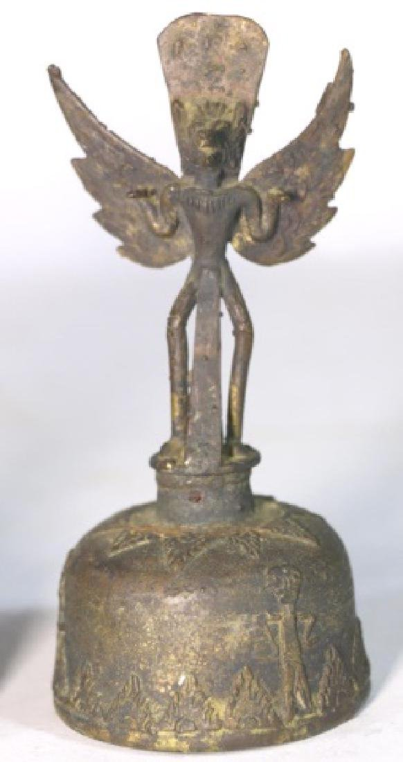 PRE COLUMBIAN FIGURAL BELLS - 2
