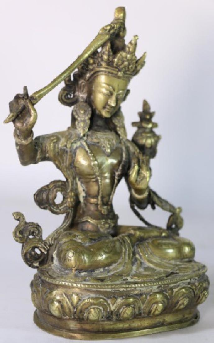 BRONZE ANTIQUE BUDDHA