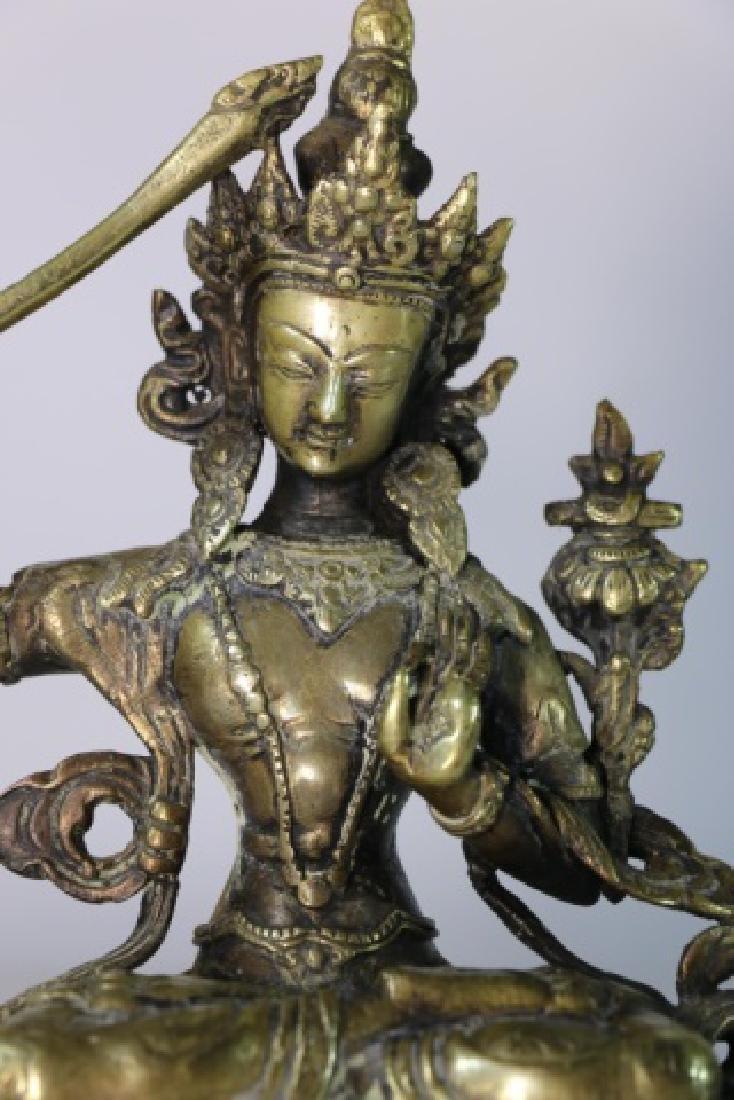 BRONZE ANTIQUE BUDDHA - 3