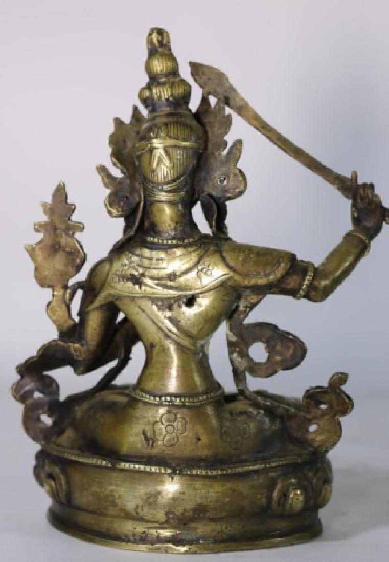BRONZE ANTIQUE BUDDHA - 5