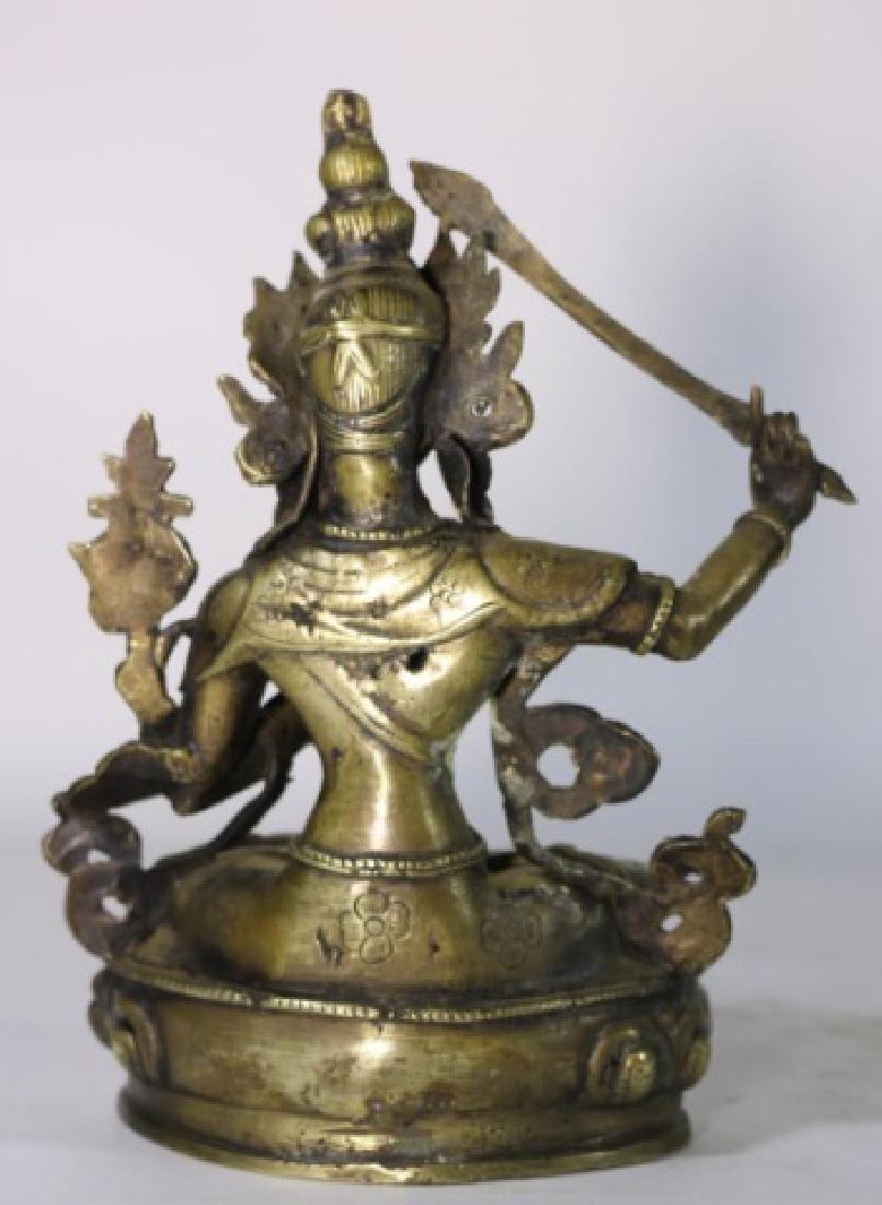 BRONZE ANTIQUE BUDDHA - 6