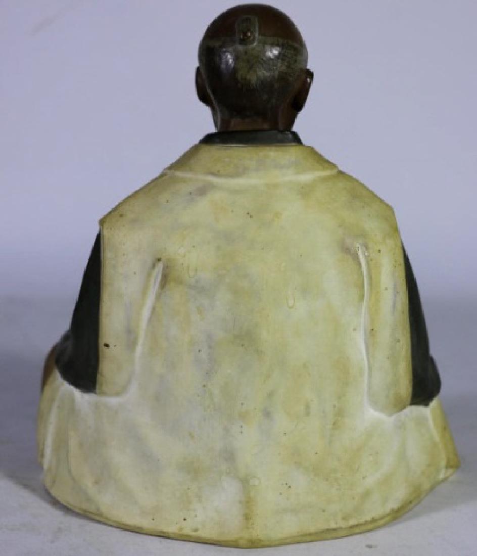 CHINESE ANTIQUE MUDD MAN SCULPTURE - 3