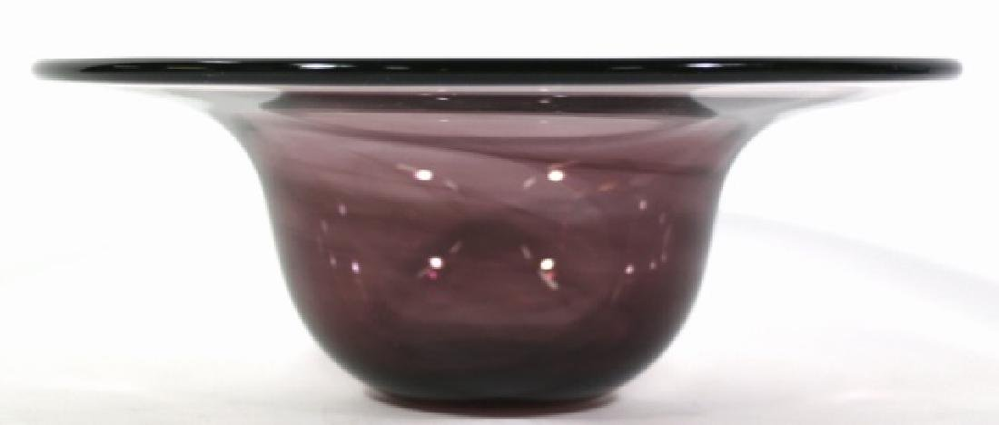 MID-CENTIURY MODERN  ART GLASS BOWL