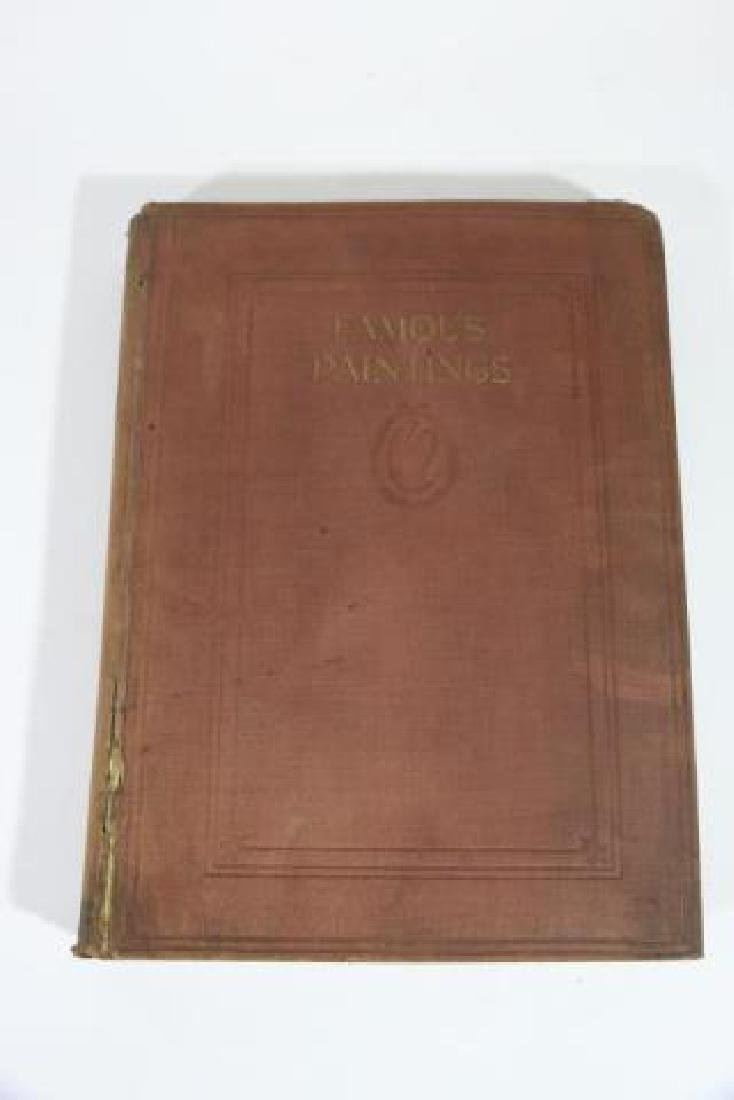 FUNK & WAGNALL'S ANTIQUE BOOK OF FAMOUS PAINTINGS - 5