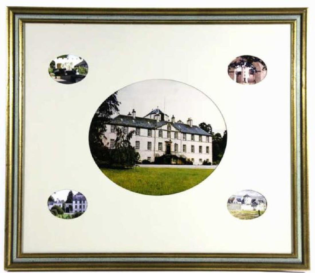 MUNROS OF FOULIS CASTLE FRAMED PHOTOGRAPHY COLLAGE - 11