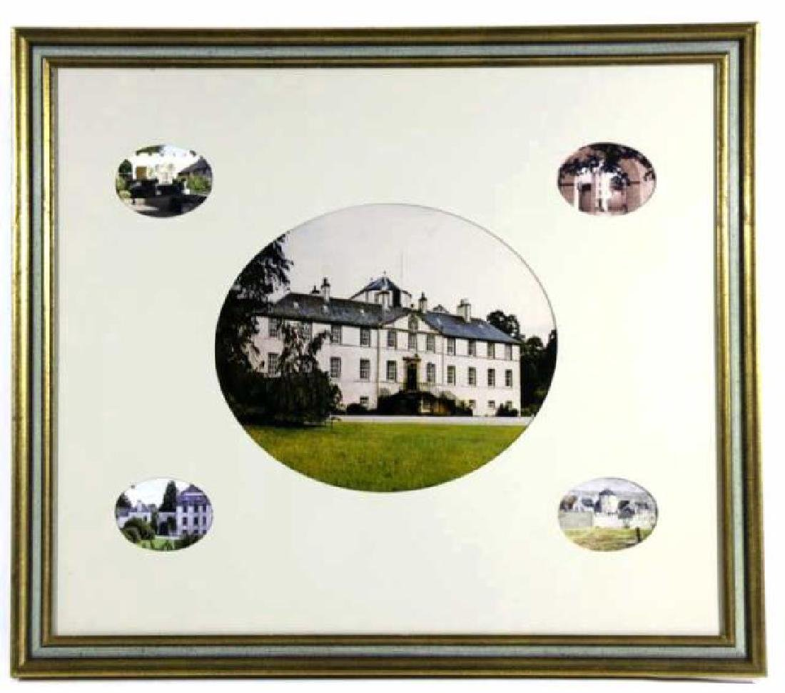 MUNROS OF FOULIS CASTLE FRAMED PHOTOGRAPHY COLLAGE