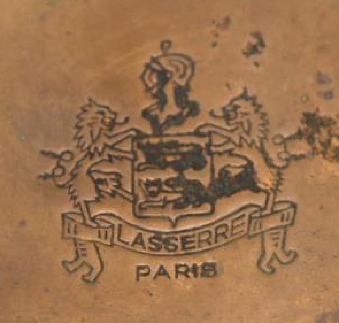 """FRENCH RESTAURANT """"LASSERRE"""" COPPER WINE TASTER - 3"""