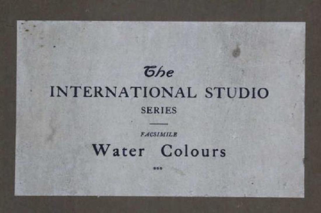 INTERNATIONAL STUDIOS ANTIQUE BOOK OF WATERCOLORS - 2