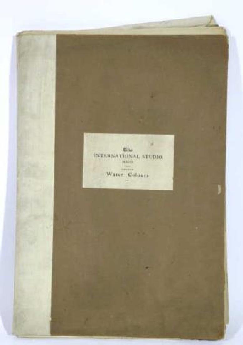 INTERNATIONAL STUDIOS ANTIQUE BOOK OF WATERCOLORS - 7