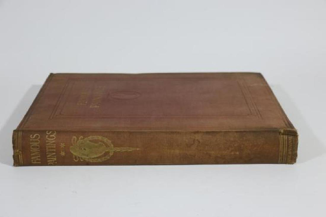 FUNK & WAGNALL'S ANTIQUE BOOK OF FAMOUS PAINTINGS