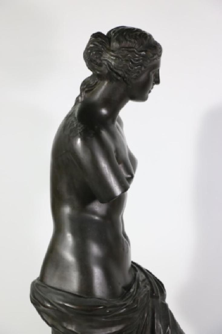 TIFFANY & CO. BRONZE  SCULPTURE OF VENUS DE MILO - 13