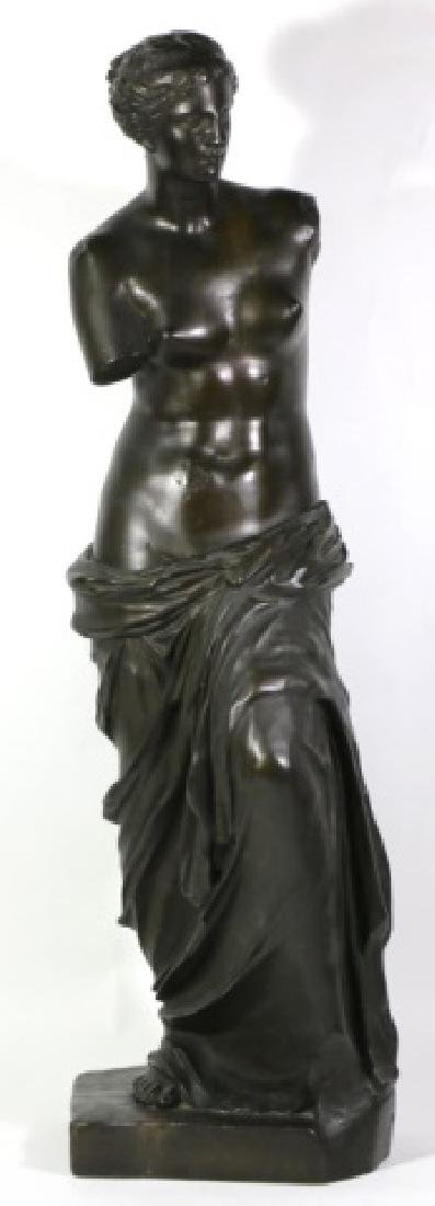 TIFFANY & CO. BRONZE  SCULPTURE OF VENUS DE MILO - 17