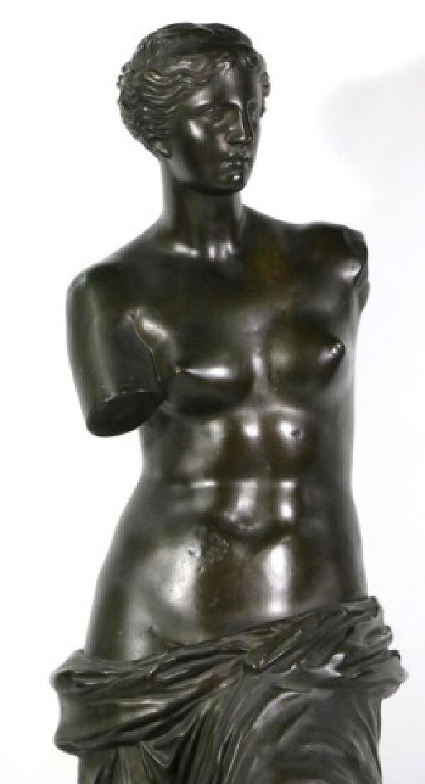 TIFFANY & CO. BRONZE  SCULPTURE OF VENUS DE MILO - 5