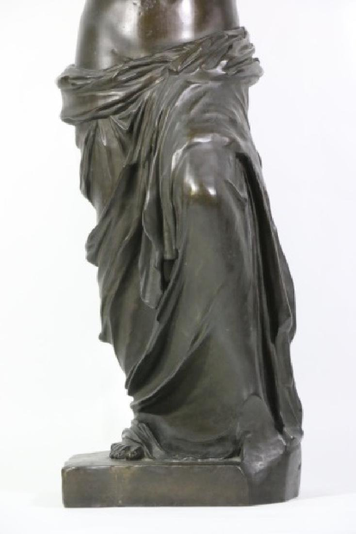 TIFFANY & CO. BRONZE  SCULPTURE OF VENUS DE MILO - 6
