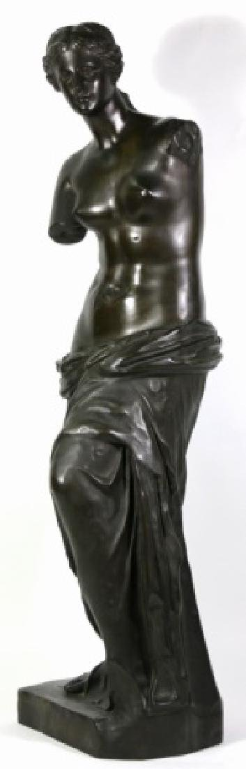 TIFFANY & CO. BRONZE  SCULPTURE OF VENUS DE MILO - 7