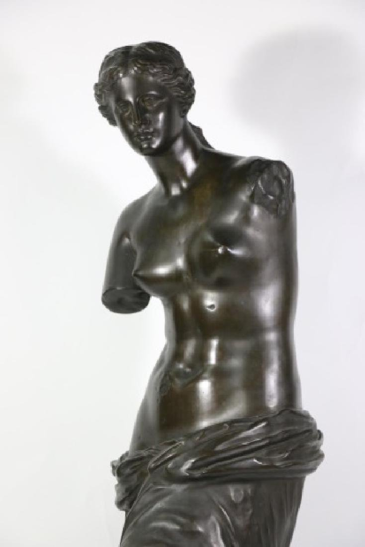 TIFFANY & CO. BRONZE  SCULPTURE OF VENUS DE MILO - 8
