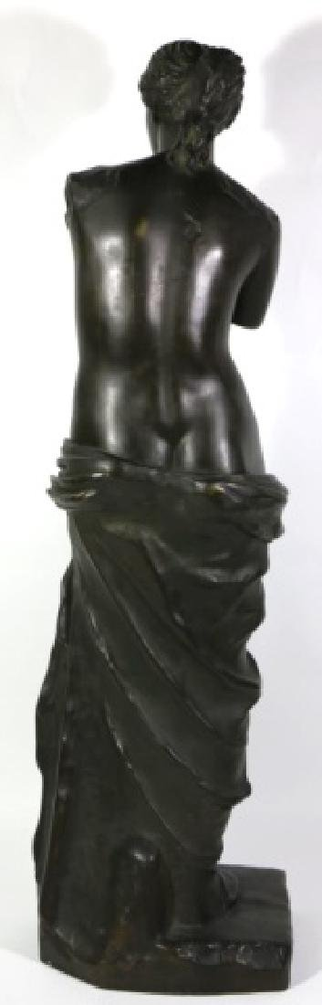 TIFFANY & CO. BRONZE  SCULPTURE OF VENUS DE MILO - 9