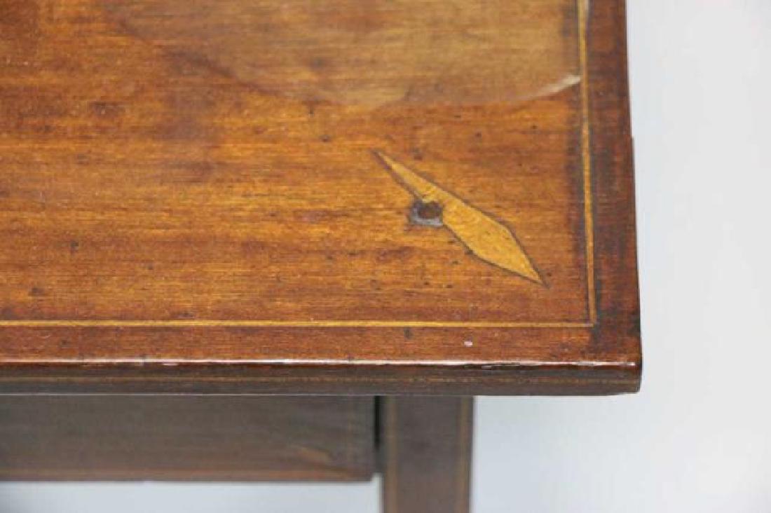 CHARLESTON HEPPLEWHITE SOUTHERN INLAID TABLE - 5