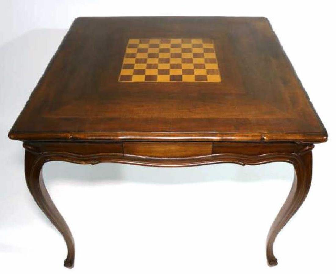 FRENCH ANTIQUE INLAID GAME TABLE
