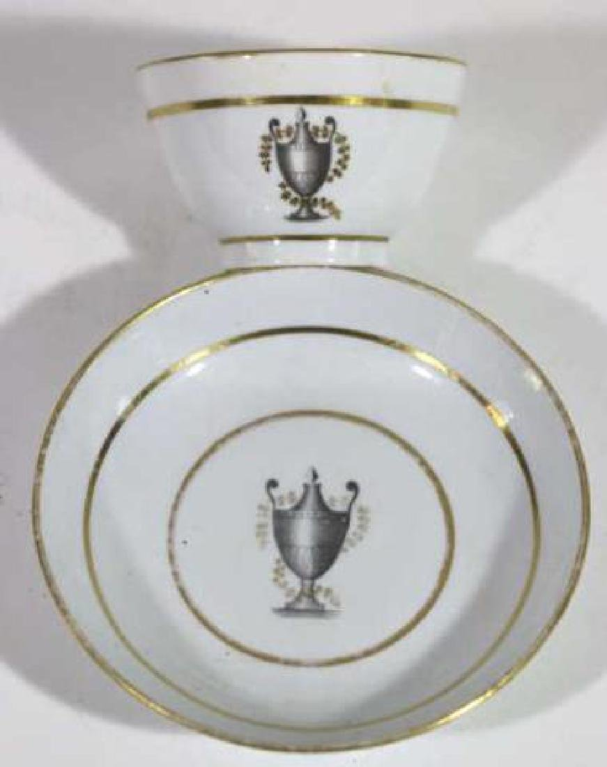 FRENCH 18TH /19TH C CUP & SAUCER