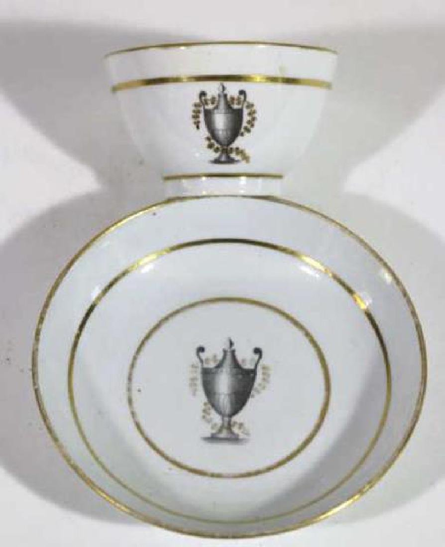 FRENCH 18TH /19TH C CUP & SAUCER - 7