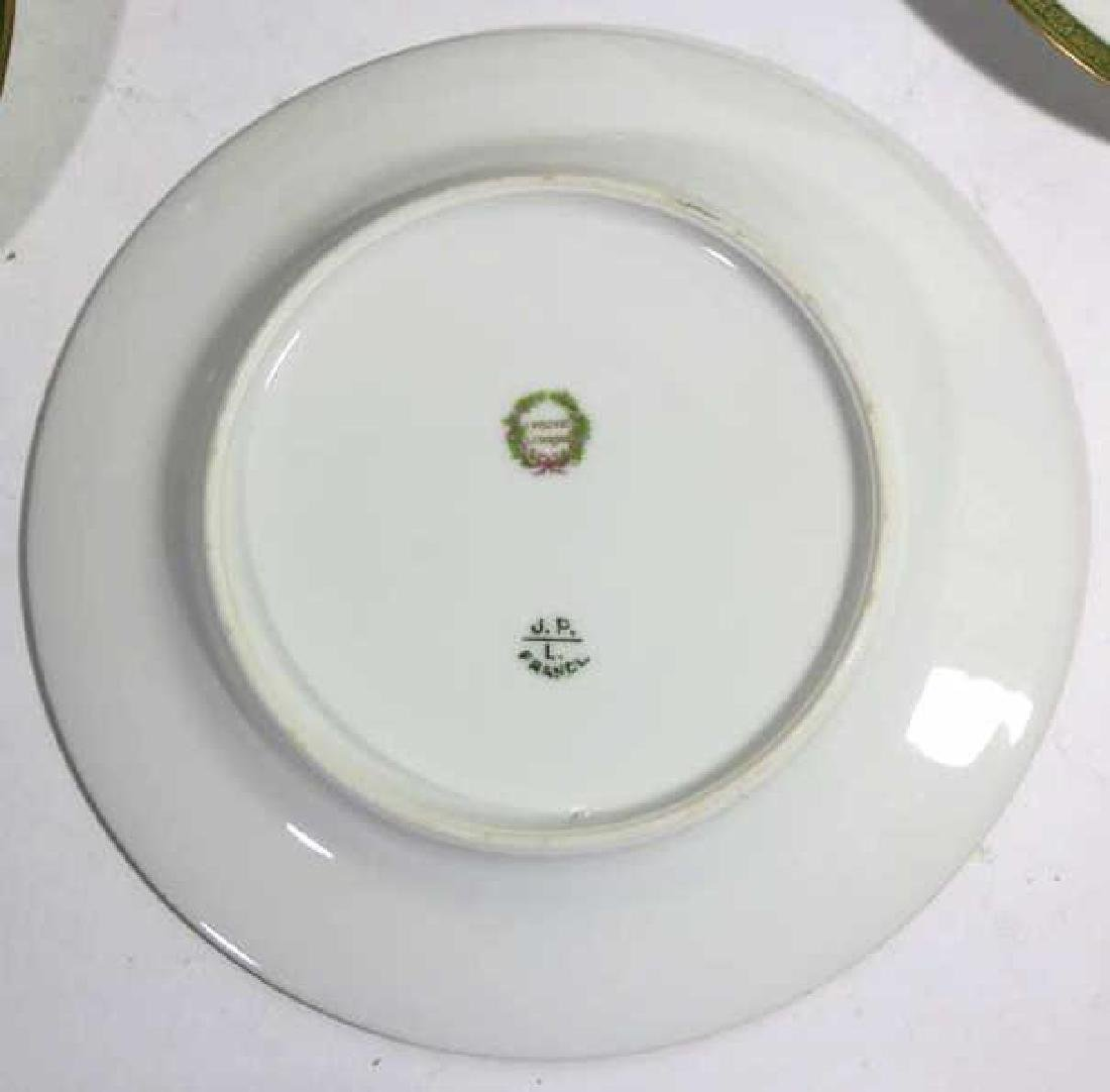 FRENCH JEAN POUYAT LIMOGES BREAD PLATES - 5