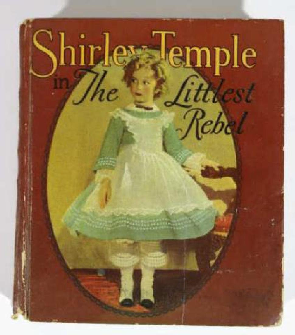 SHIRLEY TEMPLE IN THE LITTLEST REBEL ANTIQUE BOOK