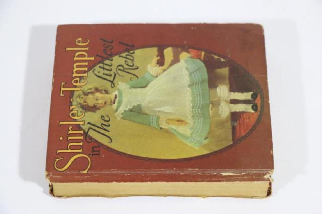 SHIRLEY TEMPLE IN THE LITTLEST REBEL ANTIQUE BOOK - 2