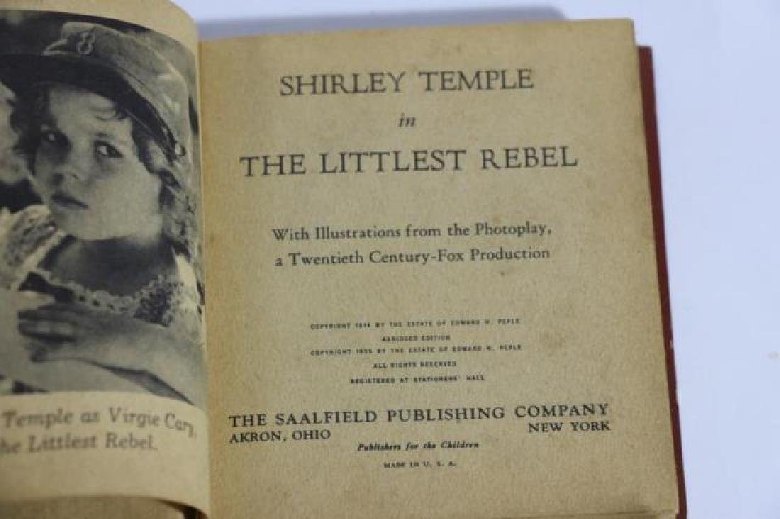 SHIRLEY TEMPLE IN THE LITTLEST REBEL ANTIQUE BOOK - 3