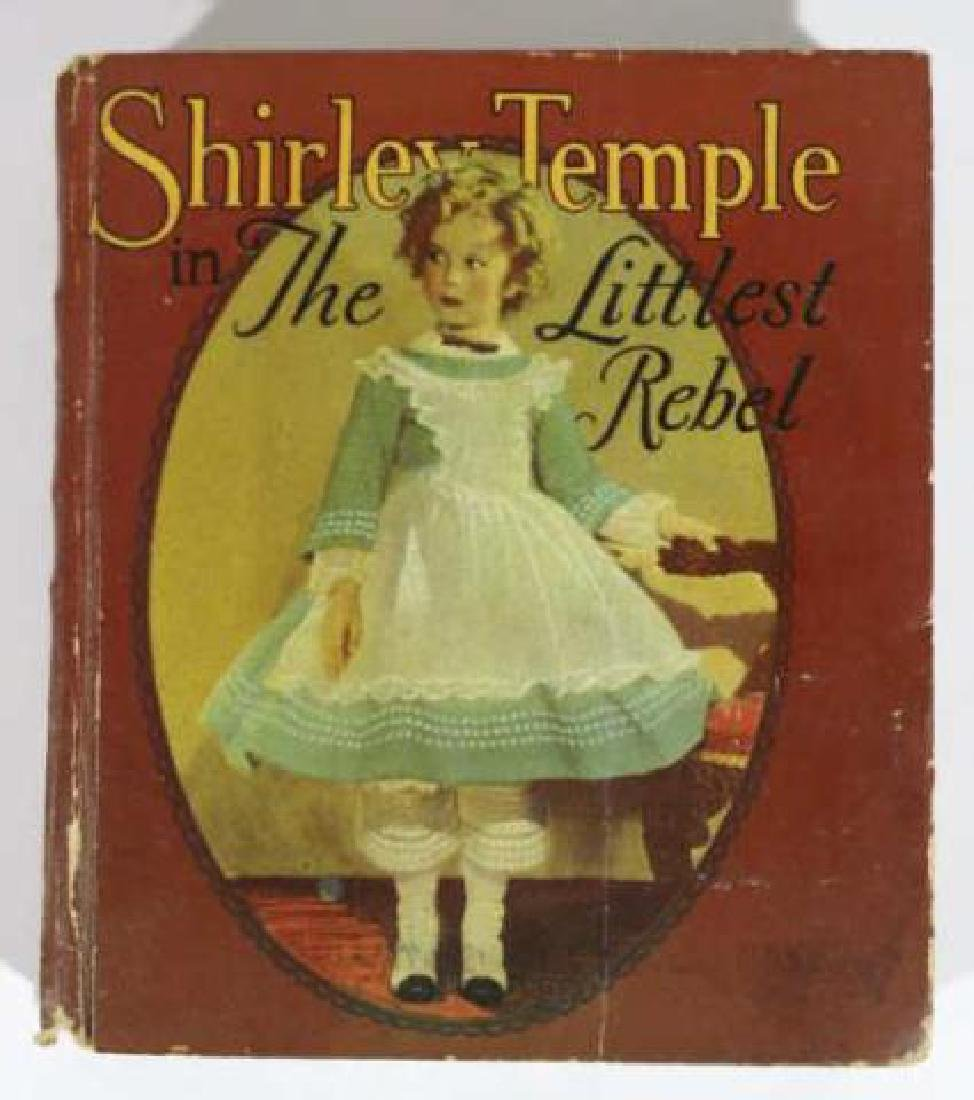 SHIRLEY TEMPLE IN THE LITTLEST REBEL ANTIQUE BOOK - 4
