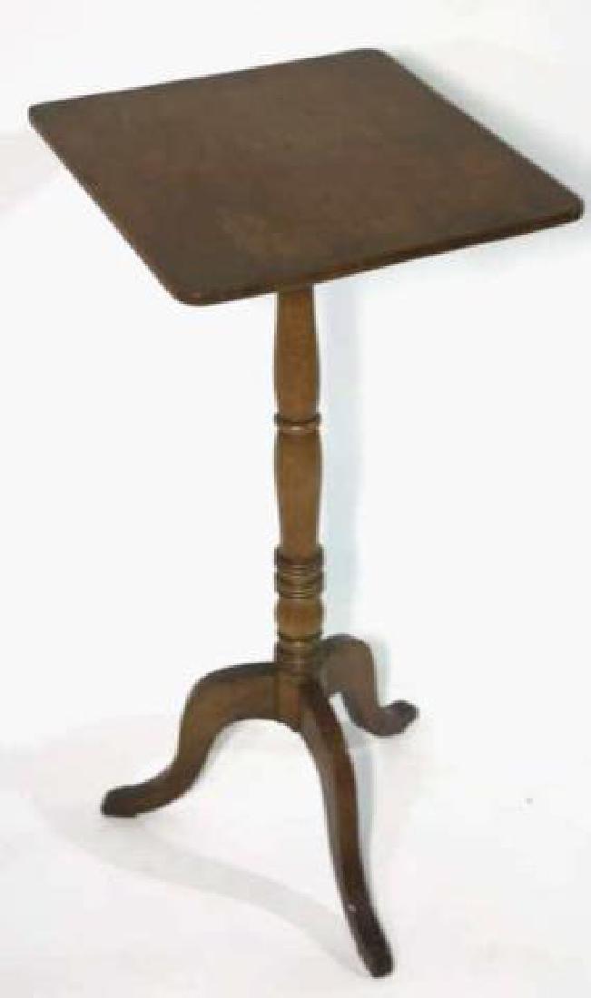 AMERCIAN ANTIQUE WALNUT SIDE TABLE